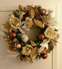 brown and white floral wreath Abbotsford, V2T 2H3