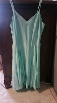 Aritzia talula tiffany blue summer dress