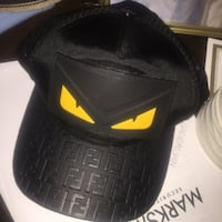 black and yellow Adidas cap Mesquite, 75150