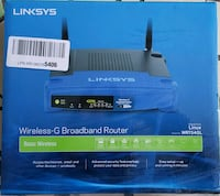 Linksys wireless router WRT54GL Montréal, H3W 1Y5