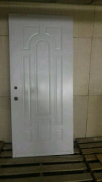 Exterior door slab with. cut outs 37x80 inches