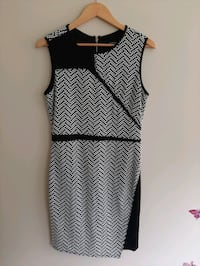 Black and white Le Chateau dress