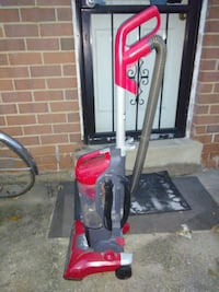 red and black Dirt Devil upright vacuum cleaner Washington, 20019
