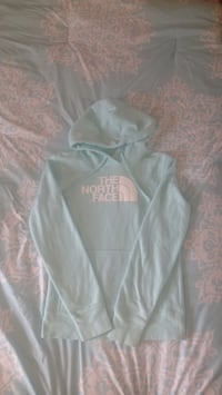 Teal the north face pullover hoodie Overland Park, 66202