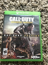 Call of Duty Advanced warfare Xbox one  Toronto, M9W