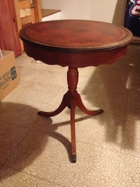 Duncan Phyffe style drum table McLean