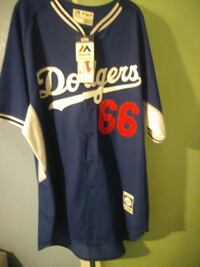 Dodgers Authentic Jersey Size 52. New Los Angeles