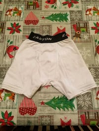 white and red Nike shorts 584 mi