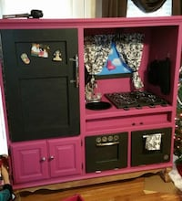 Girly play kitchen! Gray, 31032