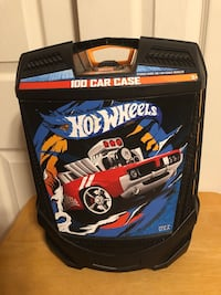 HOT WHEELS 100 CAR CASE ON WHEELS WITH PULL UP HANDLE Baltimore, 21236