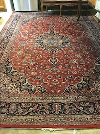 red and brown floral area rug Mission Viejo, 92692