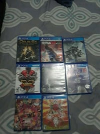 assorted Sony PS4 game cases Miami, 33157