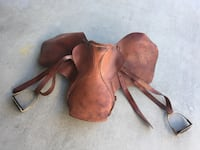 ROSSI CARUSO English Saddle , Equestrian tack gear, look, only $60
