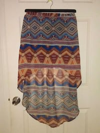 High low skirt size s  Kennewick, 99337