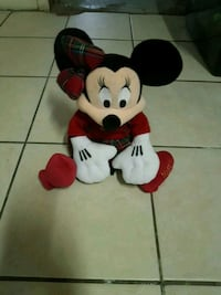 Christmas minnie mouse plush Kitchener, N2H 4T6
