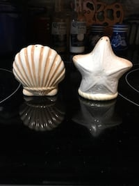 Sea Shell S & P Shakers  Floral City, 34436