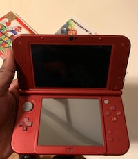 Red nintendo 3ds XL with 7 games Norfolk, 23505