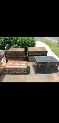 Antique wooden trunks Cheshire, 06410