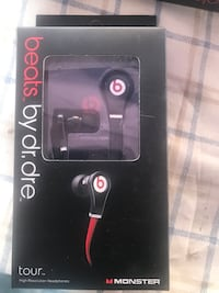 black and red Beats by Dr Oakland, 94621