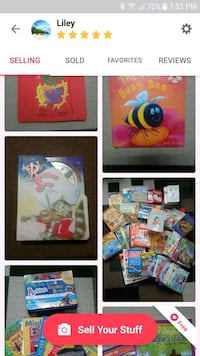 LOTS OF BOOKS- CHILDREN'S, ADULTS, MORE