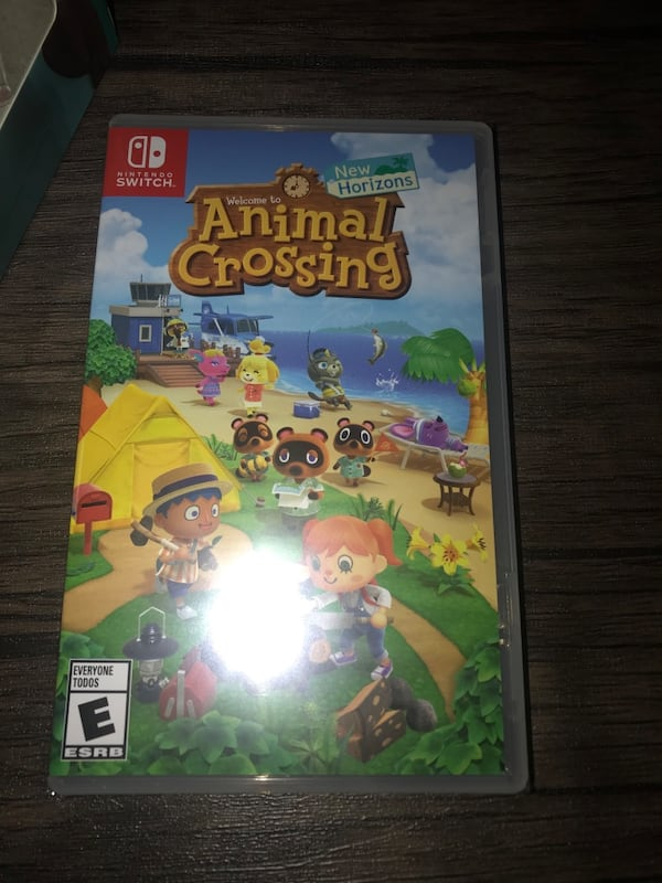 Sold Animal Crossing New Horizons Nintendo Switch Physical Game