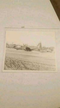 Vintage looks like army plane photo  Jessup, 20794