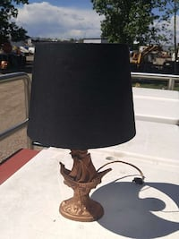Heavy VINTAGE ship light $25.00 Lethbridge