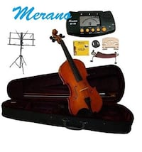 Merano 4/4 Full Size Student Violin with accessories included Danbury, 06811