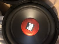 2 12's dual subwoofer speakers brand new never used them Tallahassee