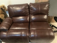 Leather 4 Seat Recliners Theater Sectional  Springfield, 22153