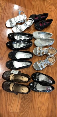 assorted pairs of shoes and sandals Columbia, 29209