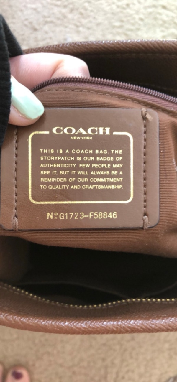 Coach city zip tote in saddle&cross grain leather 745e3ed3-06ed-4c93-b412-20ec28903858