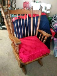 Wooden rocking chair Amarillo