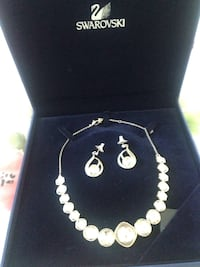 Necklace with matching earrings. Santa Rosa, 95409
