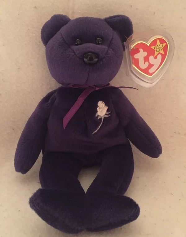 Used Rare Princess Diana TY Beanie Baby for sale in Ellijay - letgo 4cad26f8028