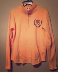 VS Pink half zip London