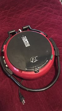Black and red George Foreman Lean Mean Fat Grilling Machine Massapequa, 11758