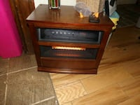 brown wooden eco heater. Topeka, 66617