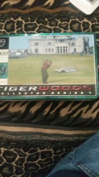 Tiger Woods collectors tin and balls Hudson, 34667