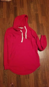 red pull up hoodie Forest City, 28043
