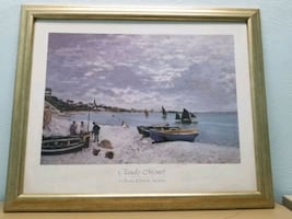 Framed artwork - Claude Monet print