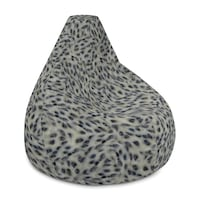 Cookies and cream beanbag chair