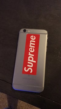 white and red Supreme iPhone case Knightdale, 27545