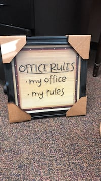 Office decor sign 23 mi