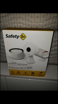 Safety first baby monitor brand new no lower buyers please pick up only  Mississauga, L5B 2C9