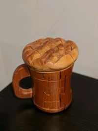 Wood 3D Beer Mug Puzzle Washington, 20010