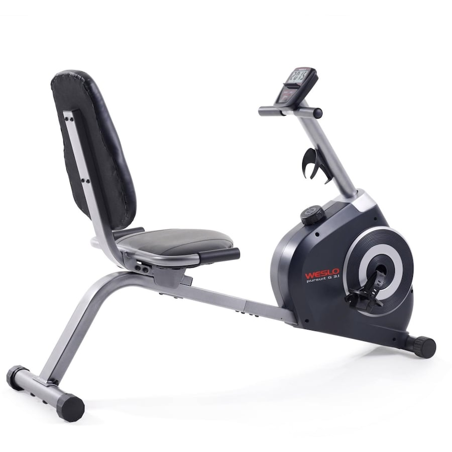 Assembled Weslo Pursuit G 3.1 Recumbent Exercise Bike (FREE DELIVERY)