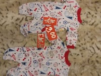 baby's white and red onesie Lehi, 84043
