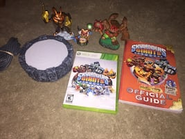 Skylanders Giants for XBOX360 with Official Guide Book