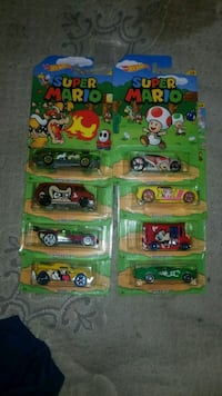 Super Mario Set of 8  Daniels, 25832